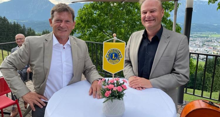 Präsidentenwechsel beim Lions Club Wörgl