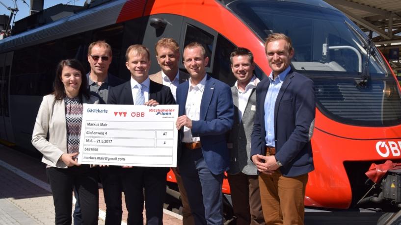 Premiere: Gästekarte als S-Bahn Netzkarte für ganze Region