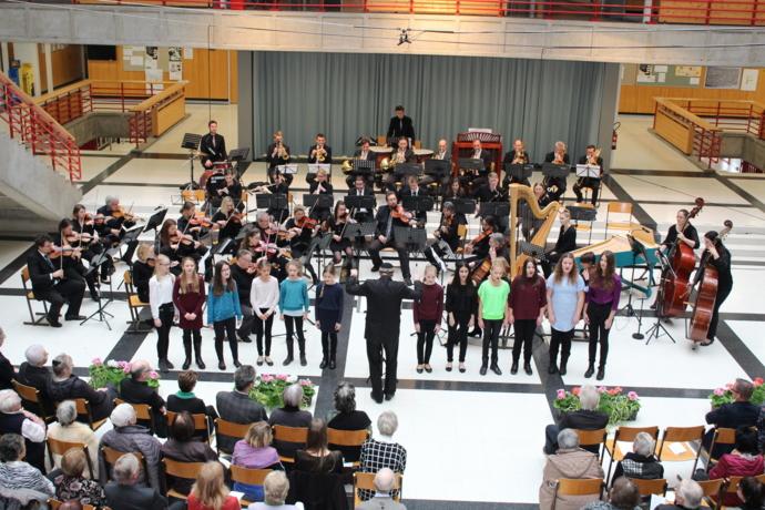 Prickelnder Neujahrs-Auftakt mit Wörgler Orchester