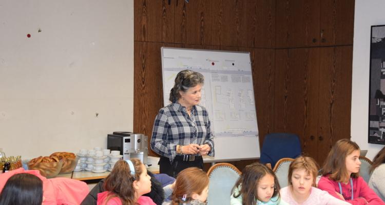 Schüler besuchten Wörgler Stadtamt