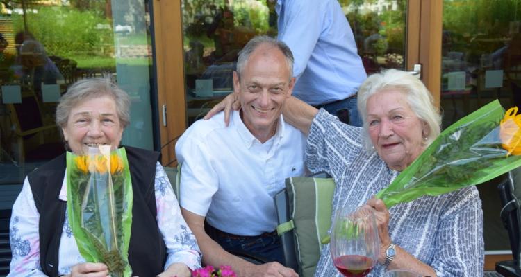 Seniorenheim ehrt Geburtstagskinder
