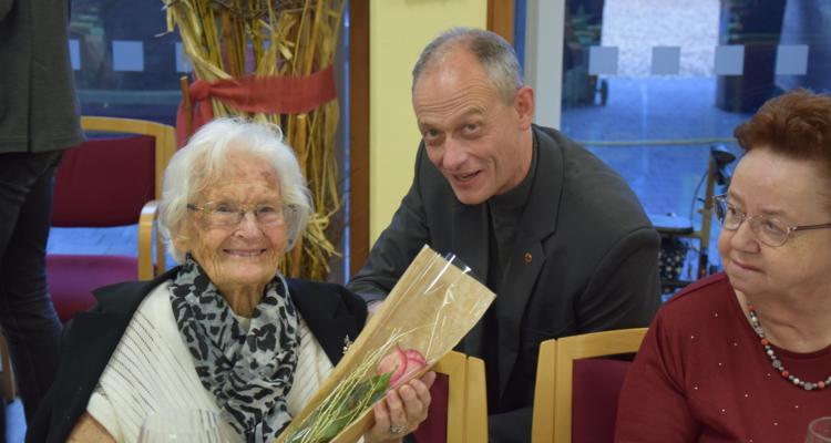 Seniorenheim feiert Geburtstagskinder