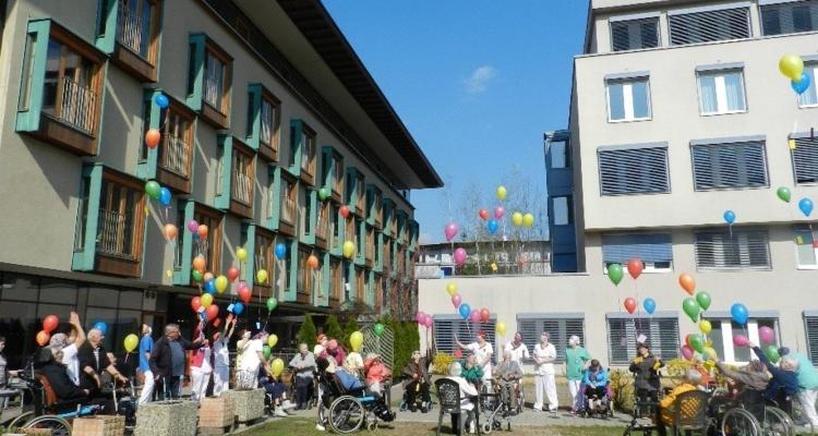 Seniorenheim Wörgl: Grüße aus der Isolation