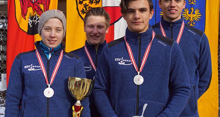 ESV Wörgl OeM U19 Platz 2 LV Tirol