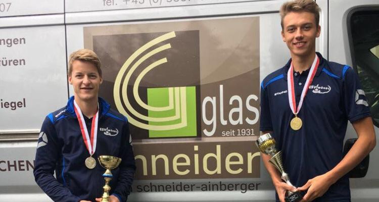ESV Wörgl Schneider Christopher und Fuchs Tobias