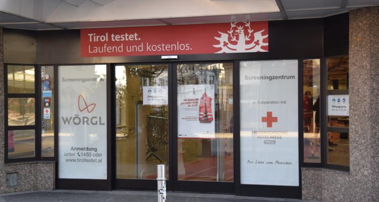 Teststraße in Wörgl: Neue Öffnungszeiten