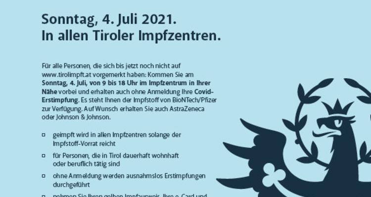 Tirol impft!