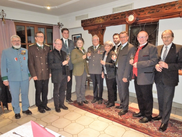 Traditioneller Neujahrsempfang des Kameradschaftsbundes