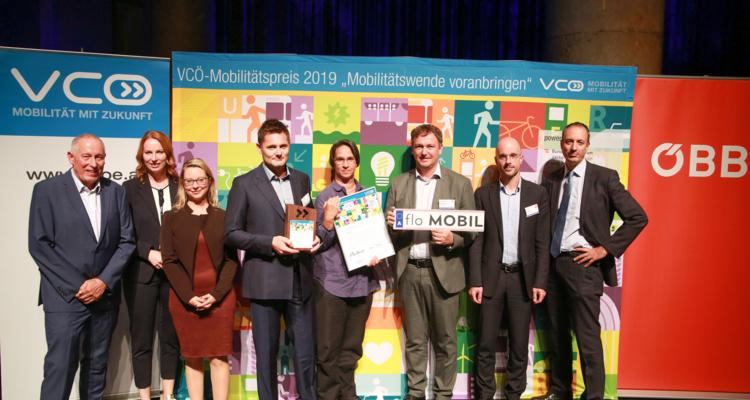 VCÖ Preis an floMOBIL