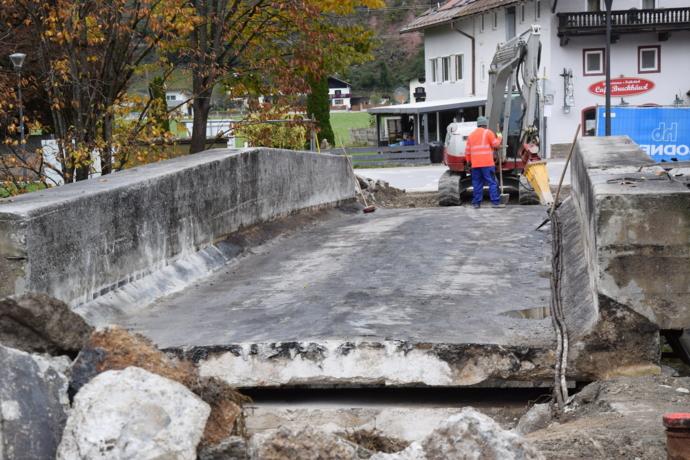 Verkehrsbehinderungen durch Brückensanierungen in Wörgl