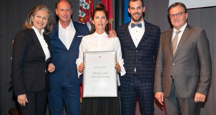 Visuelle Kommunikation Kinigadner wurde zum Tiroler Traditionsbetrieb ernannt