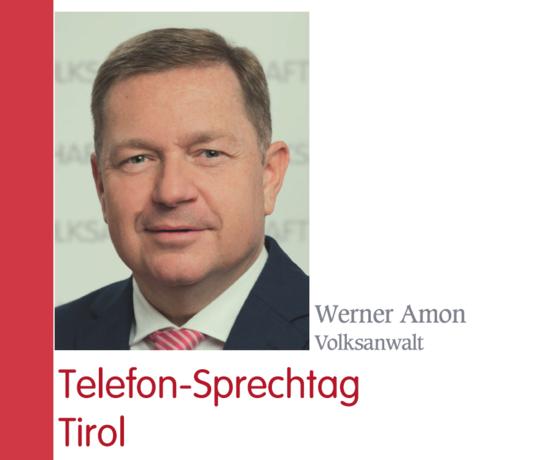 Volksanwaltschaft: Telefon-Sprechtag Tirol