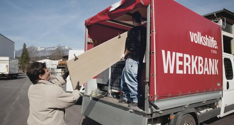 VOLKSHILFE WERKBANK: SECOND-HAND MÖBELMARKT WIEDER GEÖFFNET!