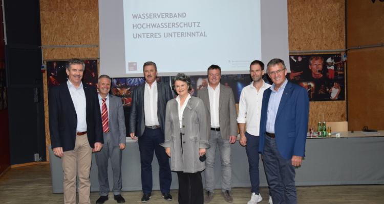 Wasserverbände im Unterinntal konstituiert: Hochwasserschutz in den Händen der Gemeinden