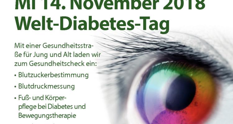 Weltdiabetestag im Wörgler Gesundheitszentrum