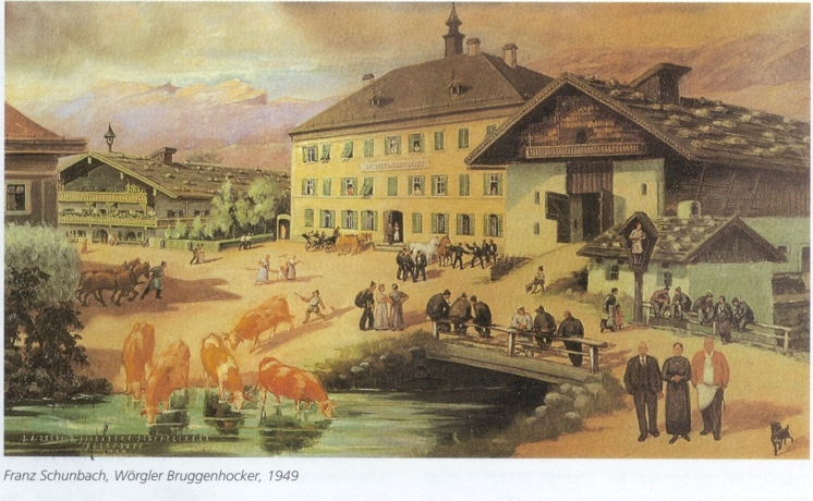 Wörgler Bruggenhocker