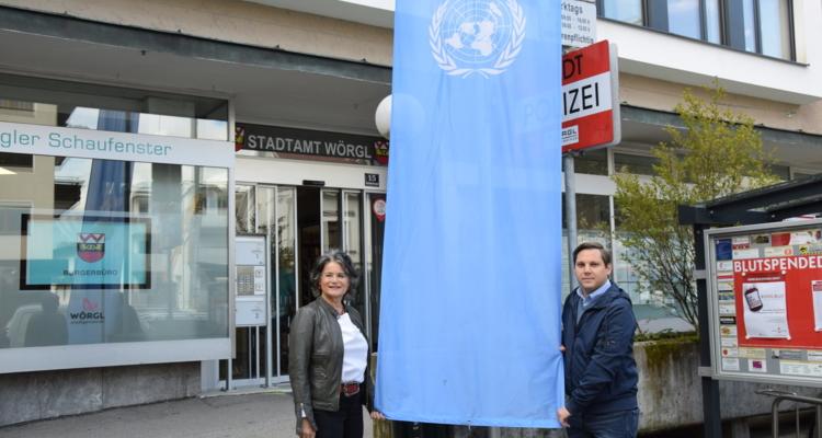 Wörgl gedenkt den UN-Friedenstruppen