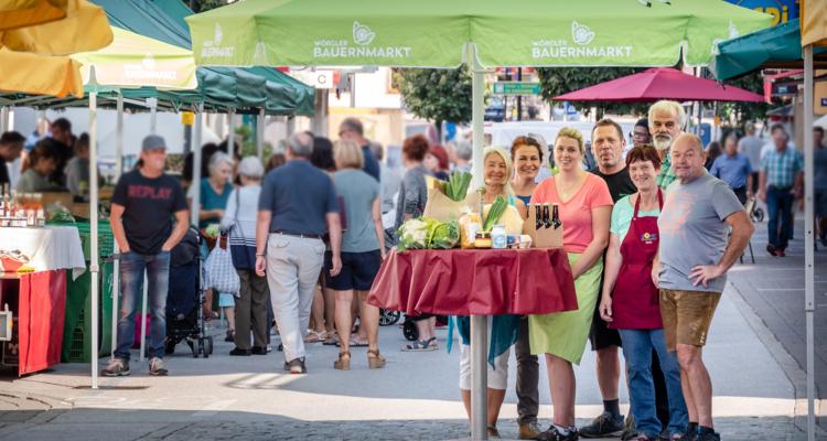Wörgler Bauernmarkt bringt frische Produkte auch vor die Haustür
