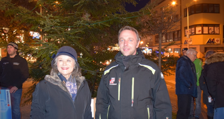 Wörgler Christbaumfeier eröffnet Adventzeit