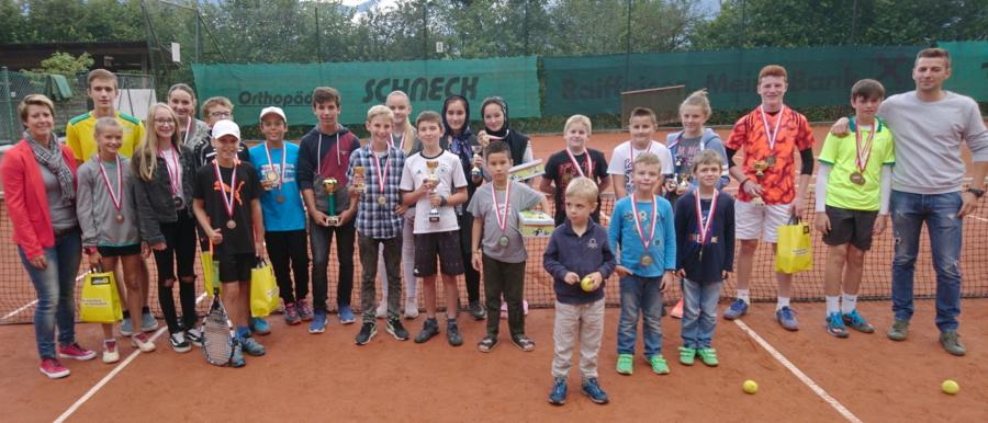 Wörgler Jugendstadtmeisterschaften im Tennis