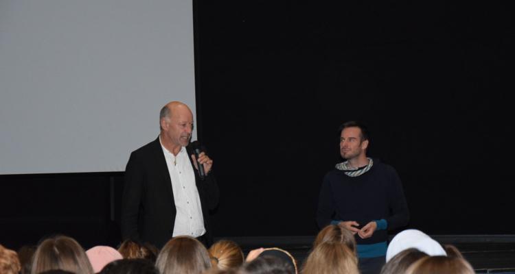 """Wörgler Schüler besuchten Initiative """"überLeben"""""""