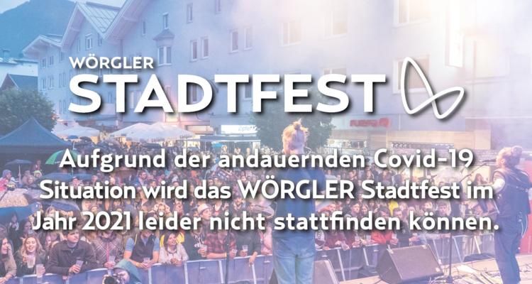 Wörgler Stadtfest abgesagt