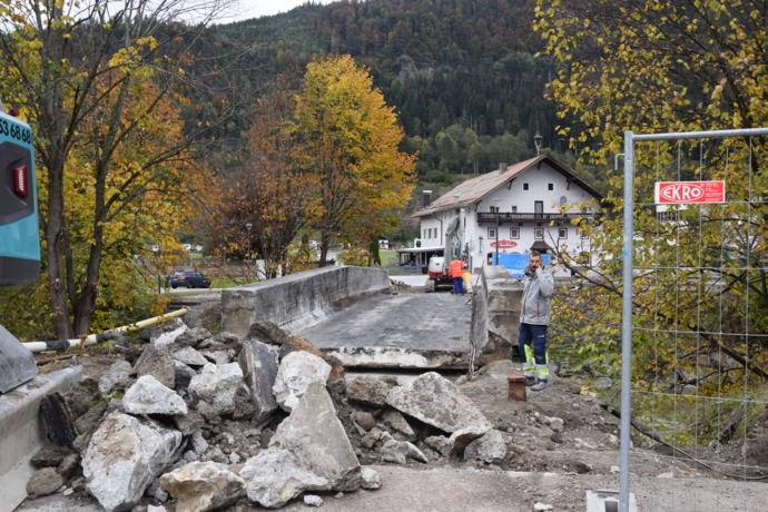 Zehenthofer-Brücke wird vorübergehend geöffnet