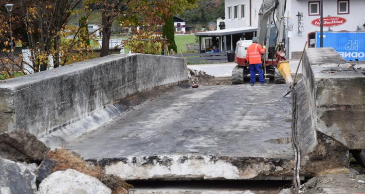 Zehenthofer Brücke wird wieder geöffnet