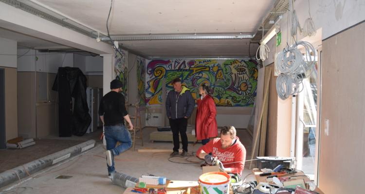 Zone Wörgl: Umbauarbeiten schreiten voran