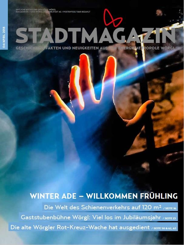 Stadtmagazin April 2018