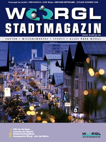 Stadtmagazin Dezember 2008