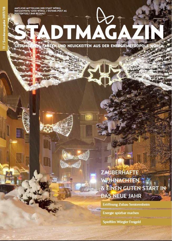 Stadtmagazin Dezember 2017 / Jänner 2018
