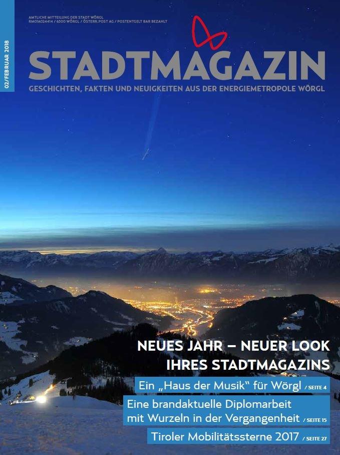 Stadtmagazin Feber 2018