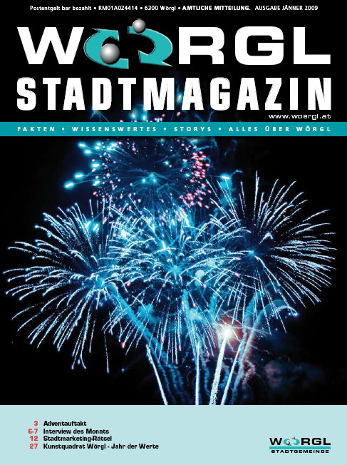 Stadtmagazin Jänner 2009