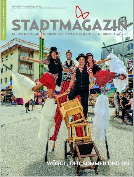 Stadtmagazin Juli/August 2018