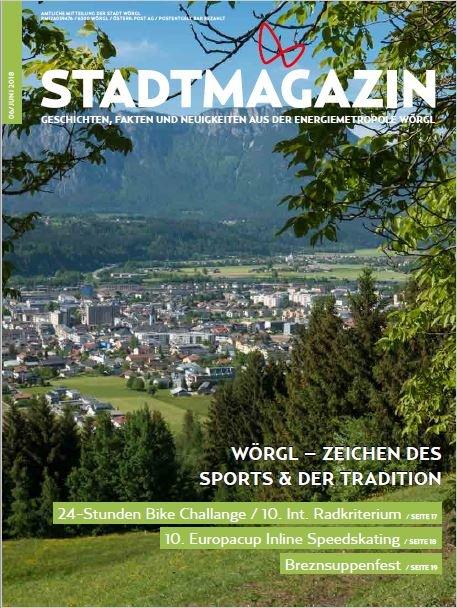 Stadtmagazin Juni 2018