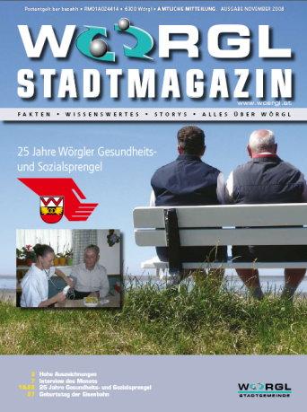 Stadtmagazin November 2008