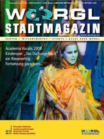 Stadtmagazin Oktober 2008