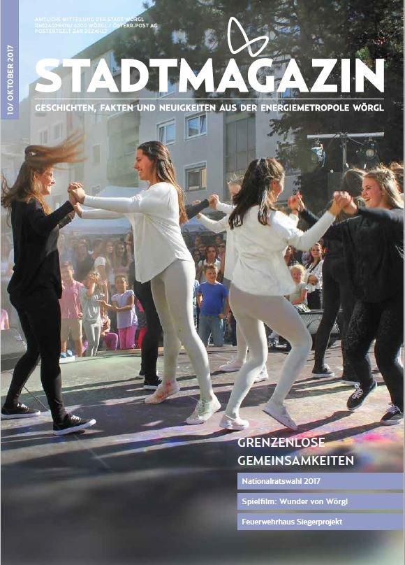 Stadtmagazin Oktober 2017