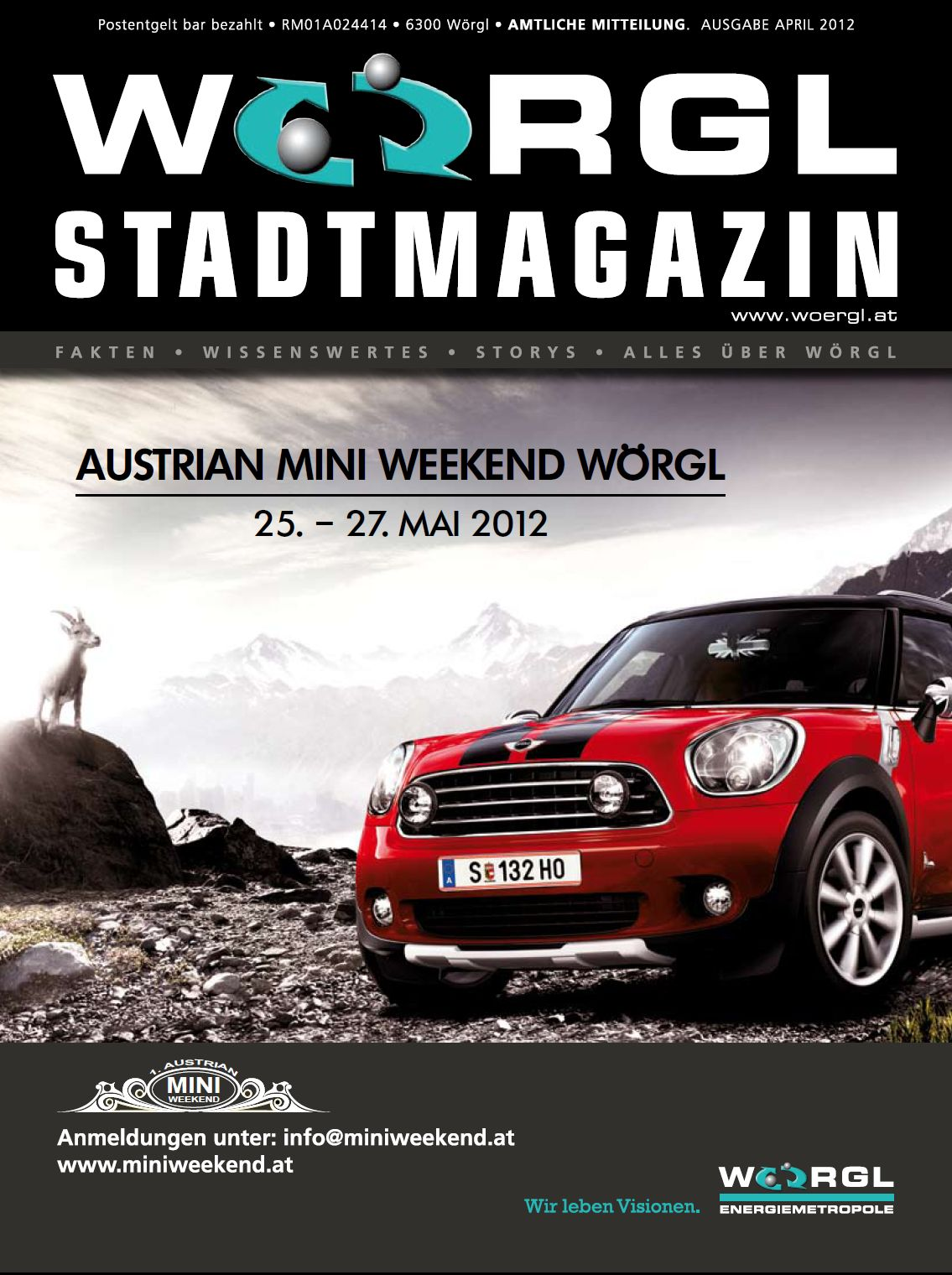 Wörgler Stadtmagazin April