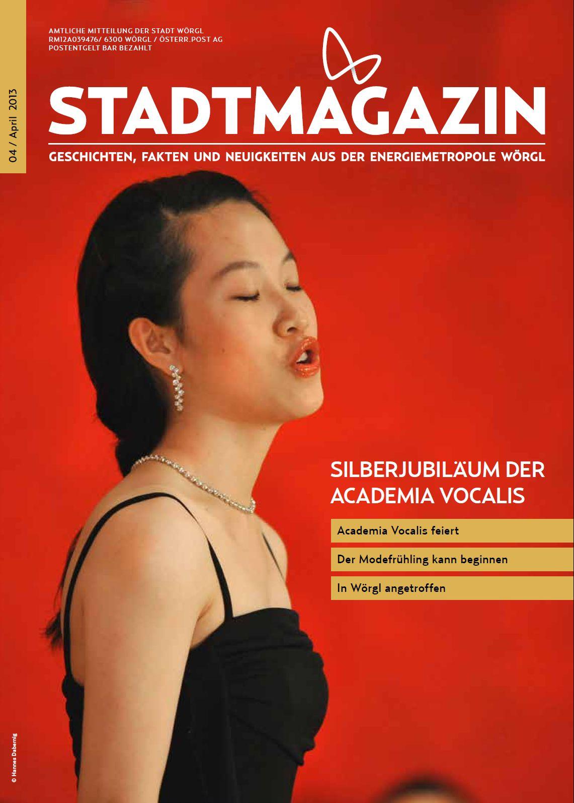 Wörgler Stadtmagazin April