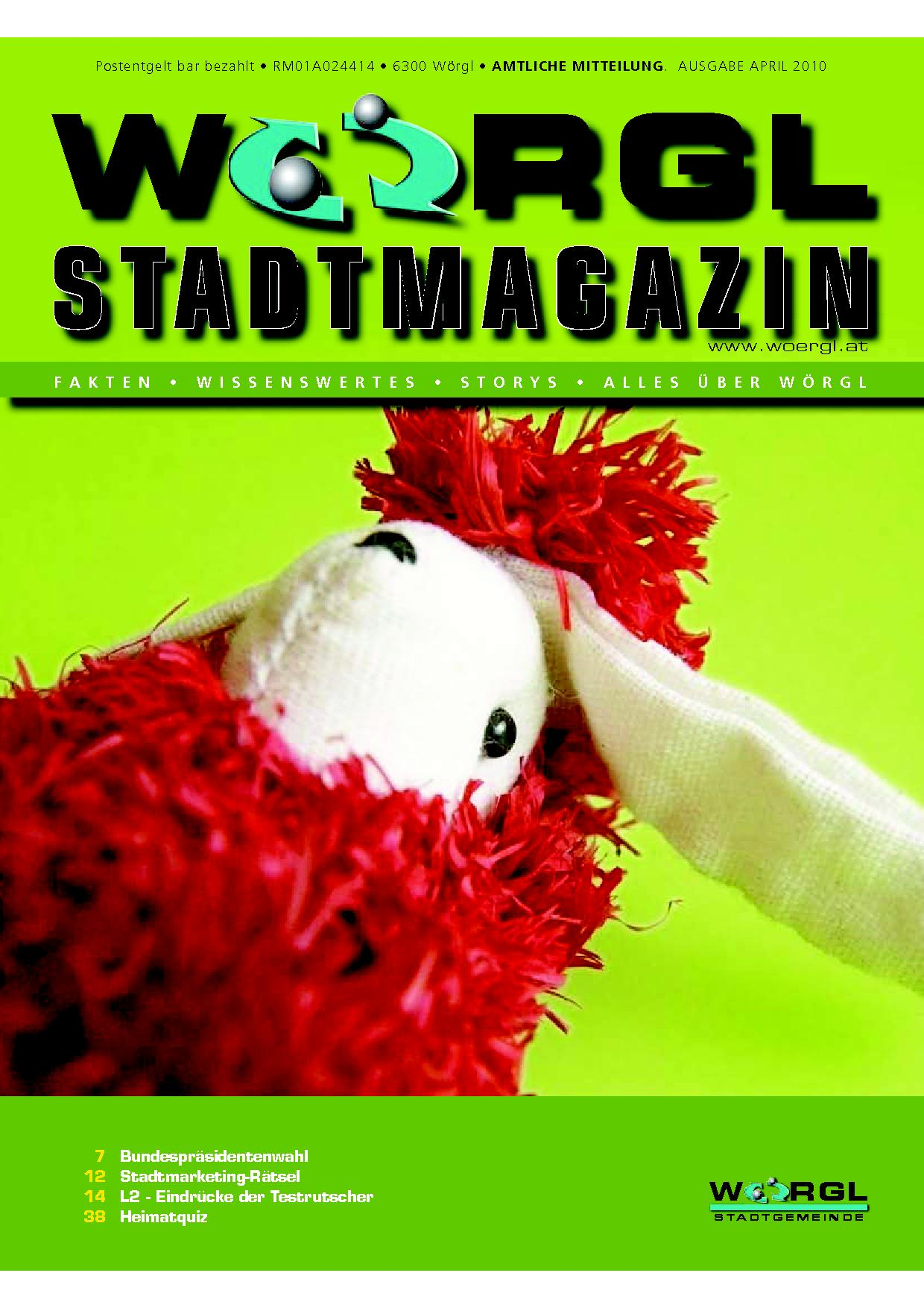 Wörgler Stadtmagazin April 2010