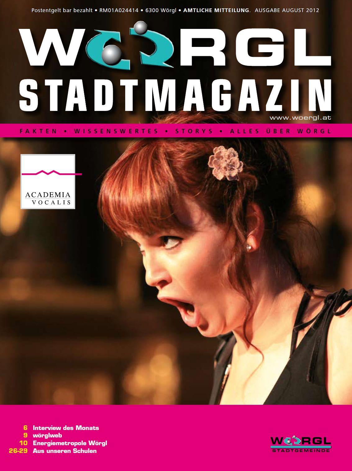 Wörgler Stadtmagazin August