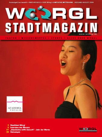 Stadtmagazin August 2009