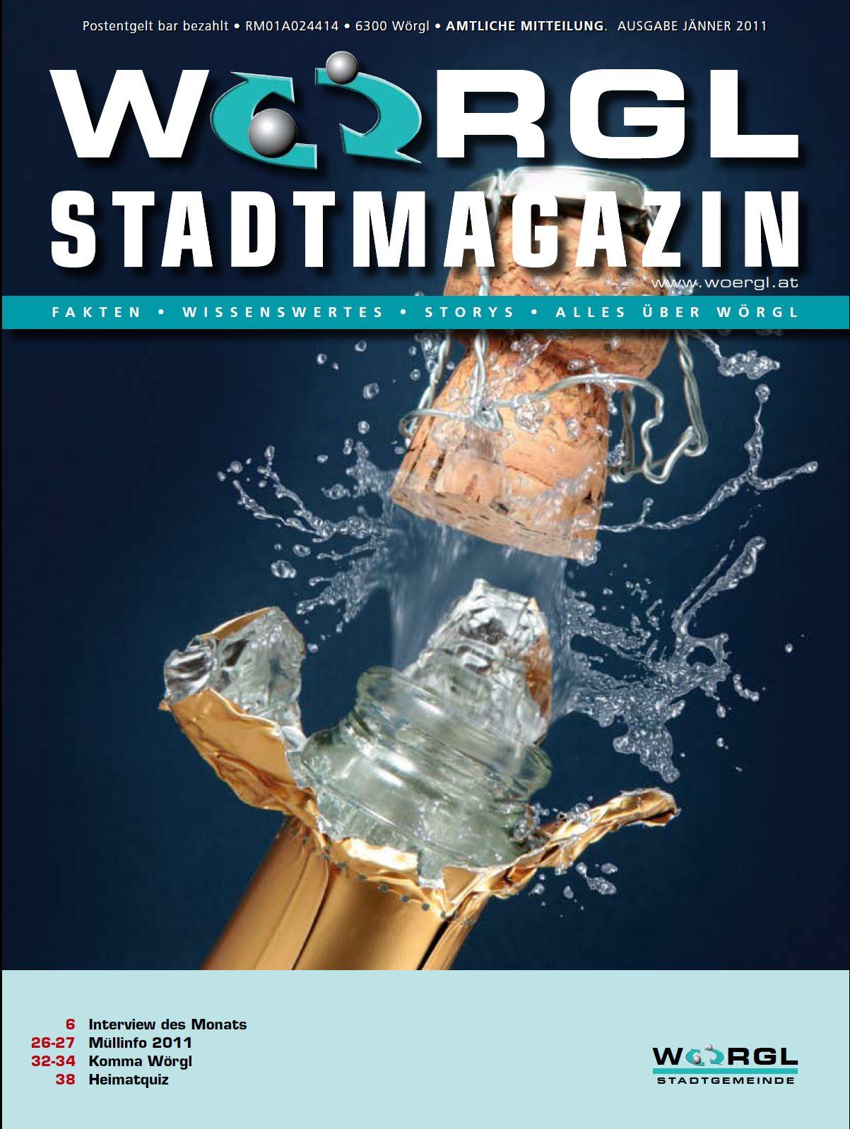 Wörgler Stadtmagazin Jänner