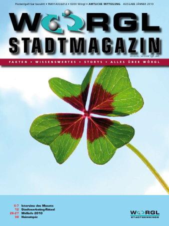 Stadtmagazin Jänner 2010