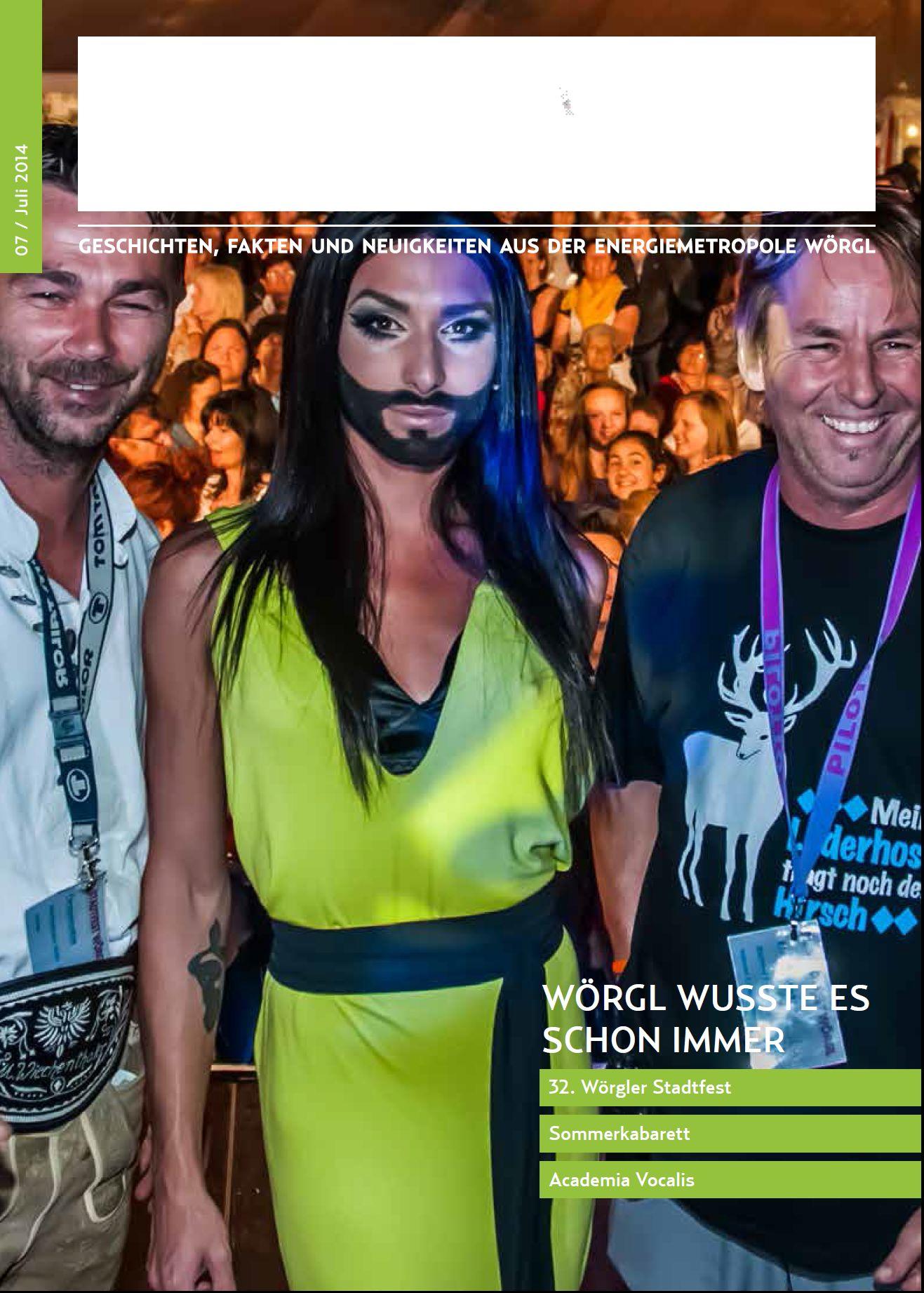 Wörgler Stadtmagazin Juli