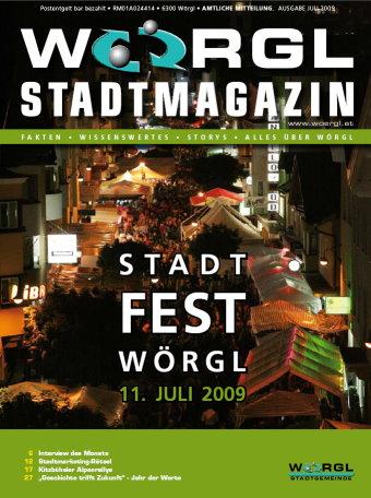 Stadtmagazin 07/09