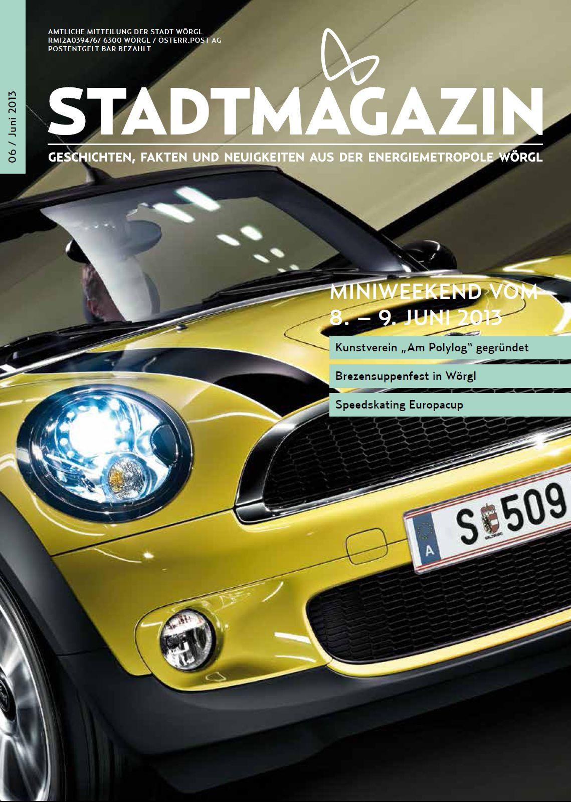 Wörgler Stadtmagazin Juni