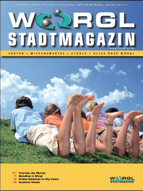 Wörgler Stadtmagazin Juni 2010